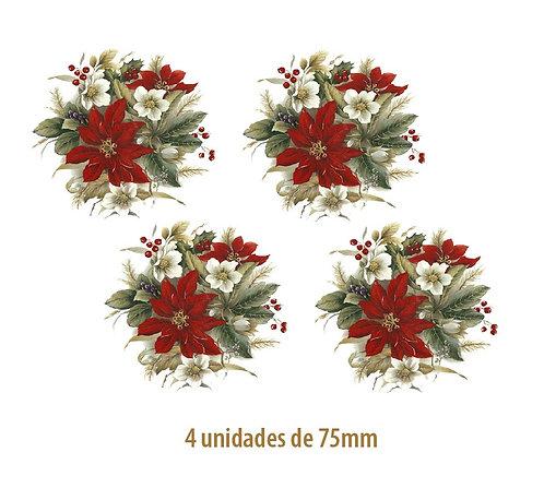 Winter Poinsettia - 75mm