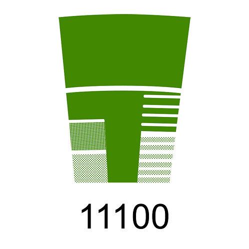 11100 - VERDE CLARO PARA VIDRO