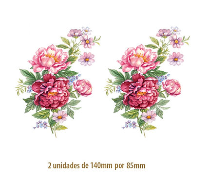 Peonies A -140x85mm