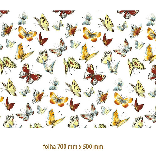 Tapete - Flying Butterflies (70x50cm)
