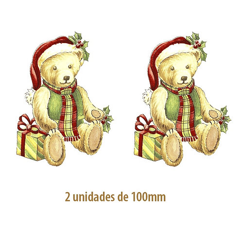 Xmas Bear - 100mm