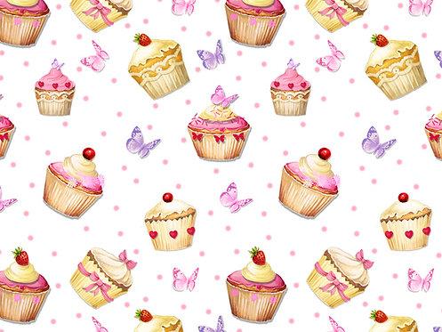 Tapete - Cupcakes  (70x50cm)