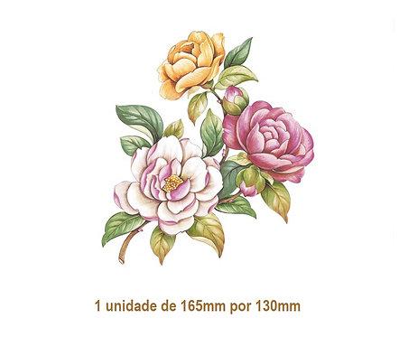 Camellia - 165x130mm