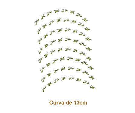 Green Border - Curva de 13cm