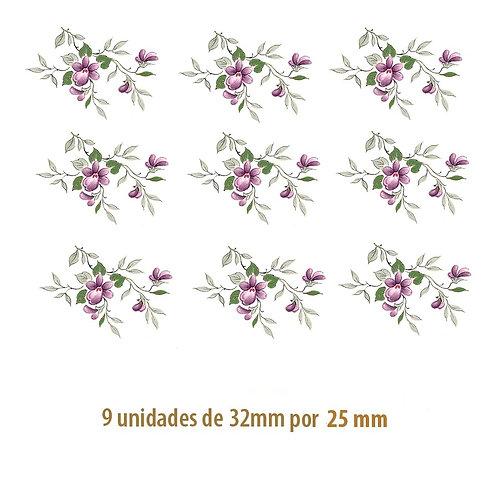 Little Violet - 32x25mm