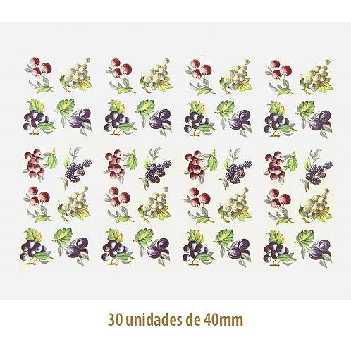 Mix of Fruits F - 40mm