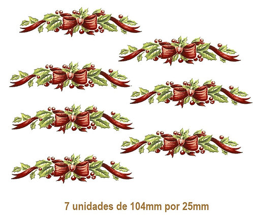 Xmas Ribbon - 104mm