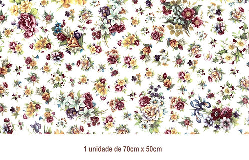 Tapete - Flowers of the Year (70x50cm)