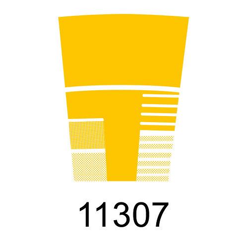 11307 - AMARELO ESCURO PARA VIDRO