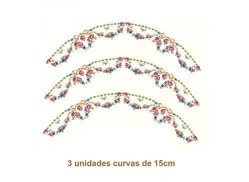 Eva - Curva de 15cm