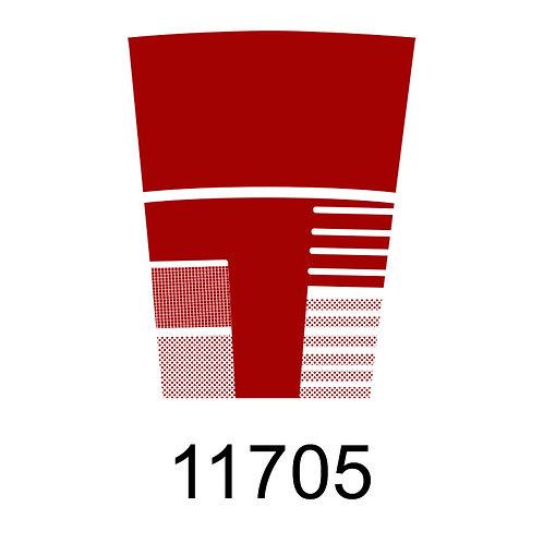 11705 - VERMELHO PARA VIDRO