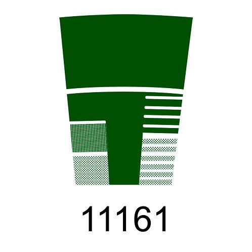 11161 - VERDE ESCURO PARA VIDRO