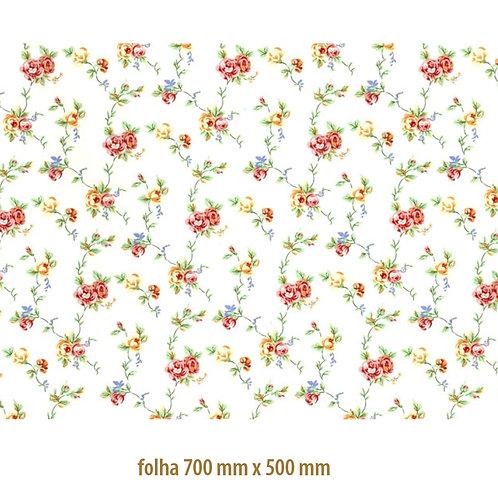 Tapete - Rosas Delicadas (70x50cm)