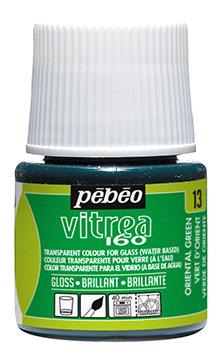 Tinta para Vidro Pebeo Vitrea 160 - Oriental Green