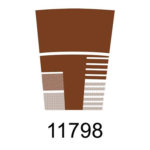 11798 - METALIZADO BRONZE PARA VIDRO