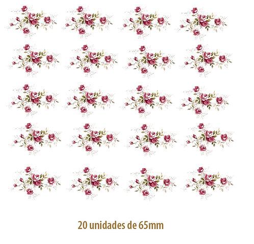 Little Pink Rose - 65mm