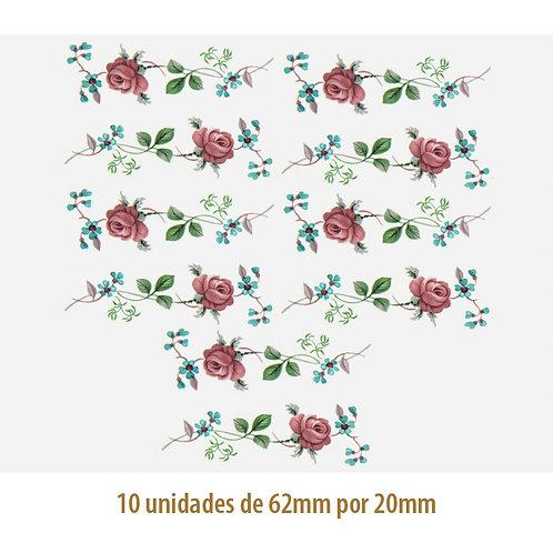 Little Rose M - 62x20mm