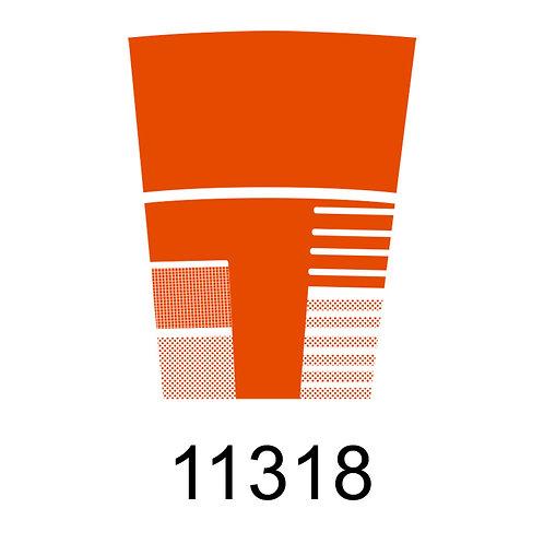 11318 - LARANJA PARA VIDRO