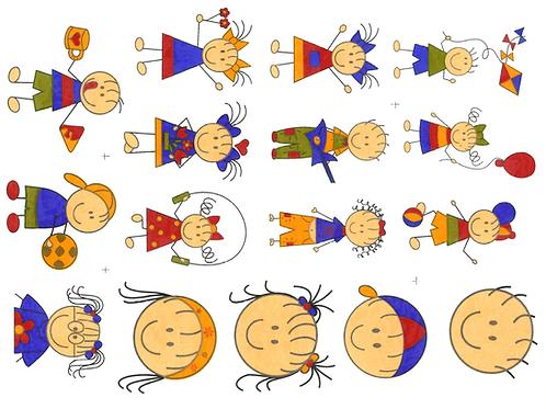 Decalque Colorido Kids