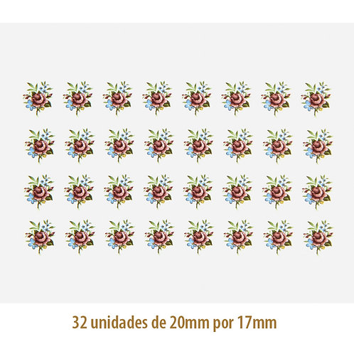 Blossom G - 20x17mm