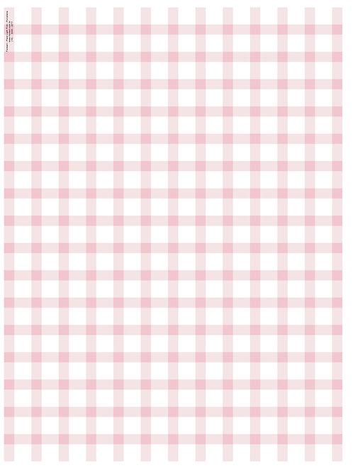 Plaid - Light Pink