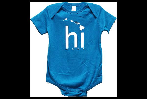 HI ISLANDS BABY ROMPER