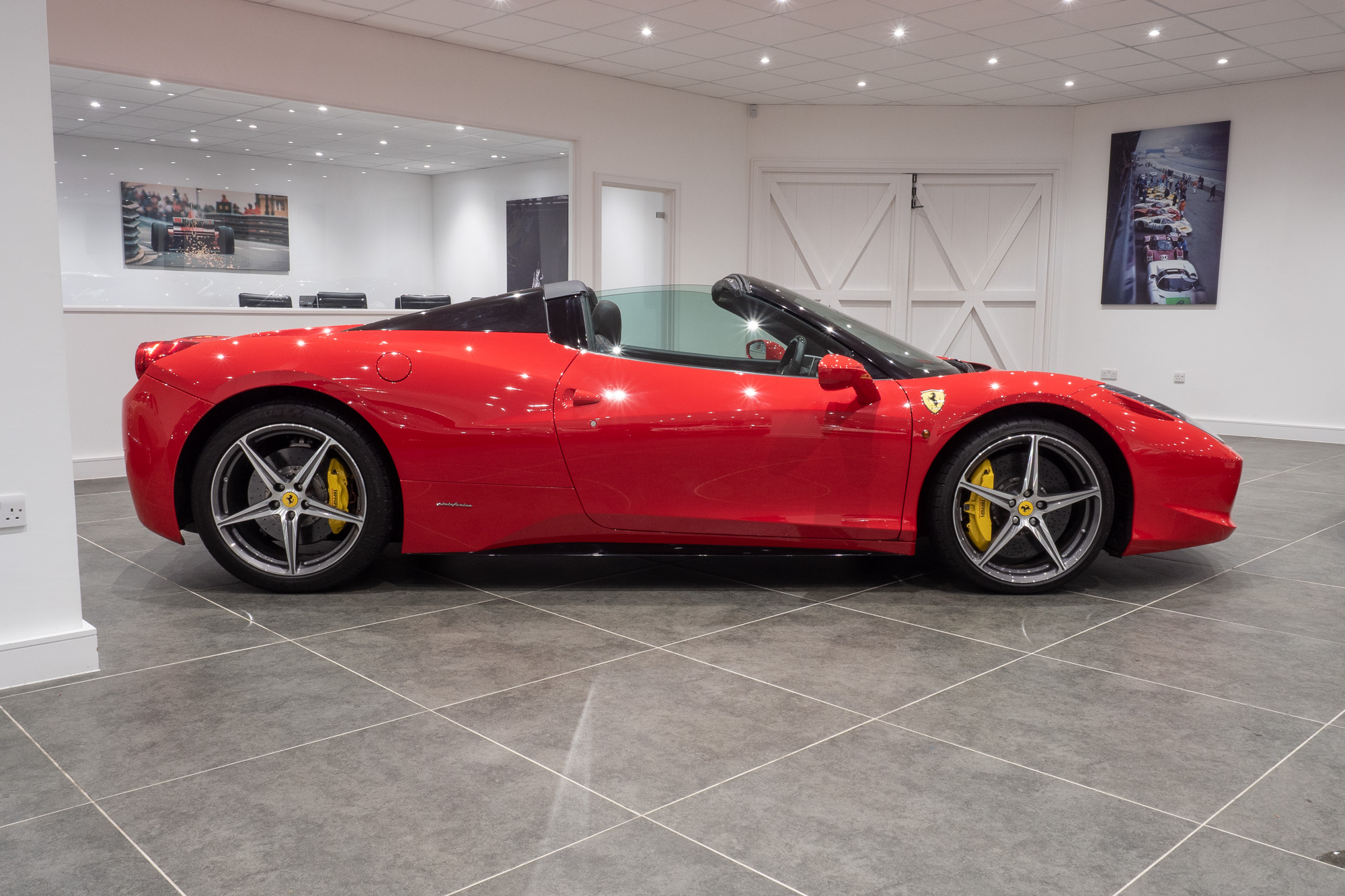 Ferrari 458 red black-5