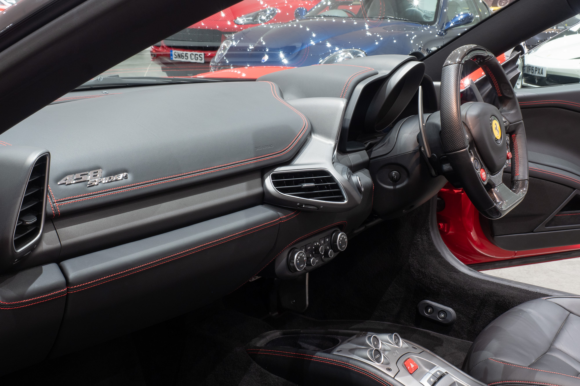 Ferrari 458 red black-11