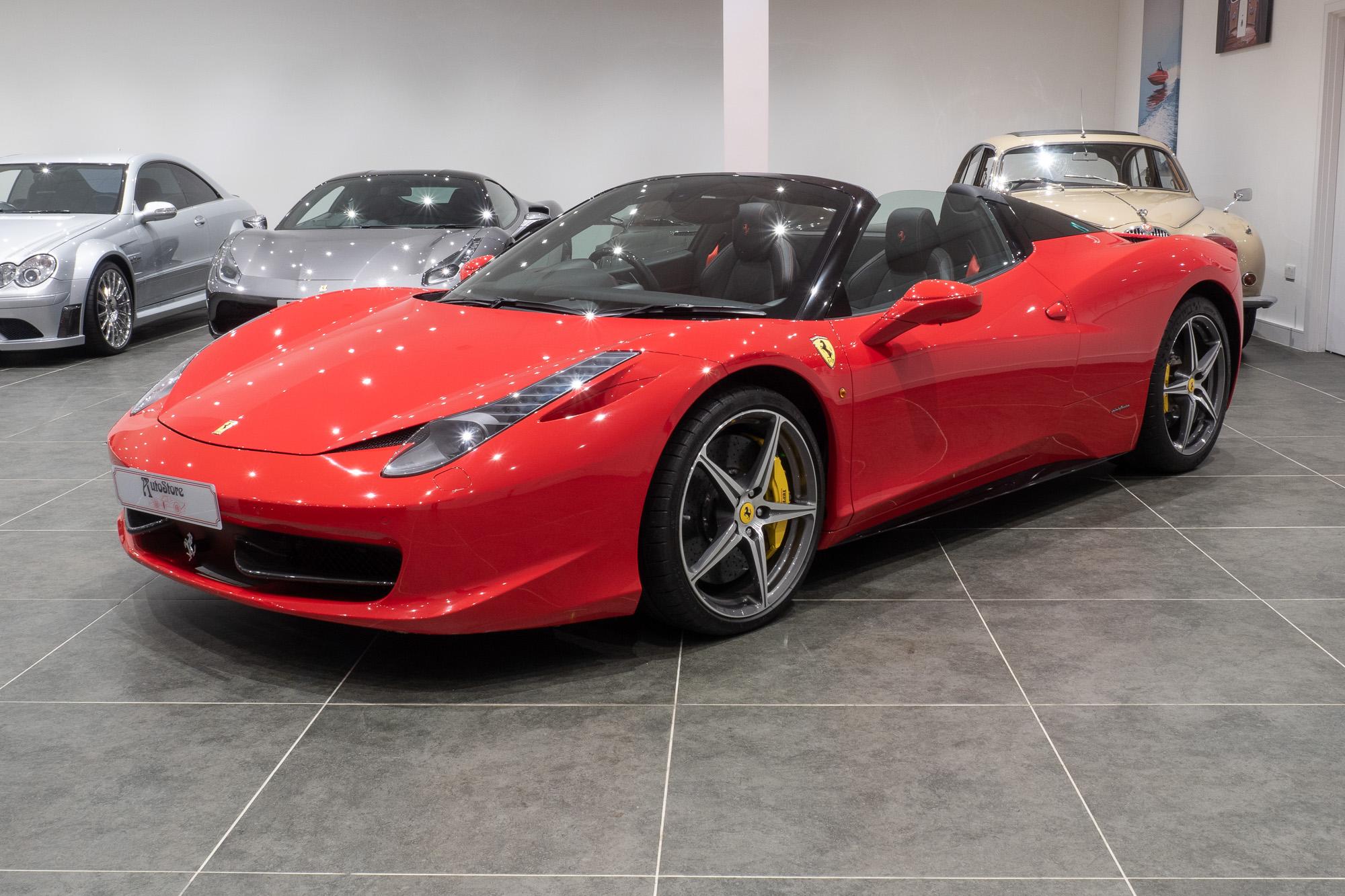 Ferrari 458 red black-2