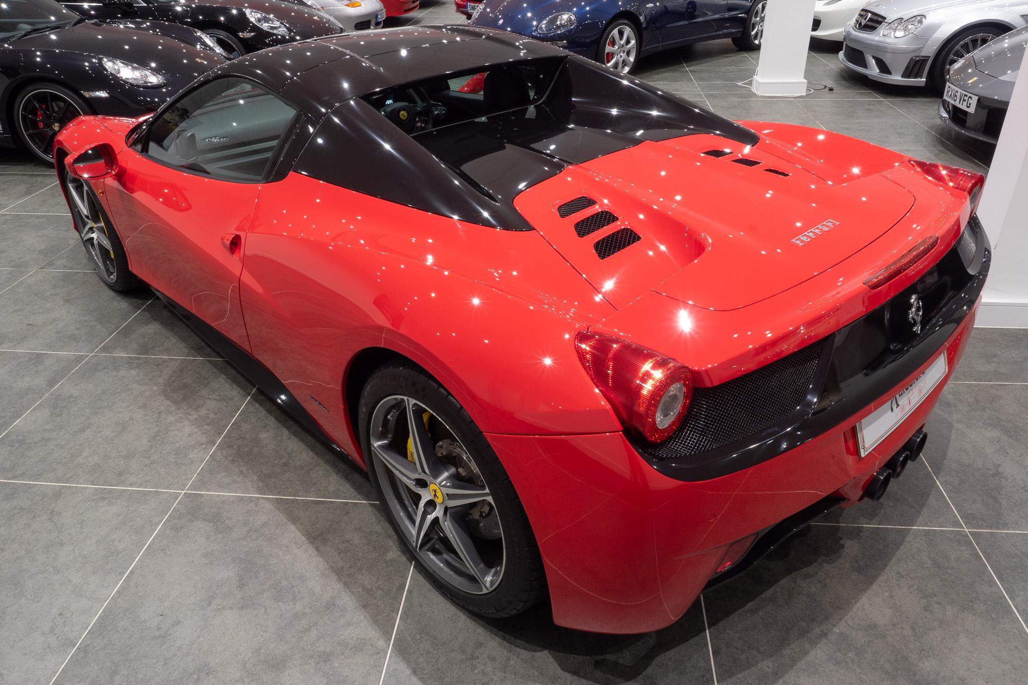 Ferrari 458 red black-14