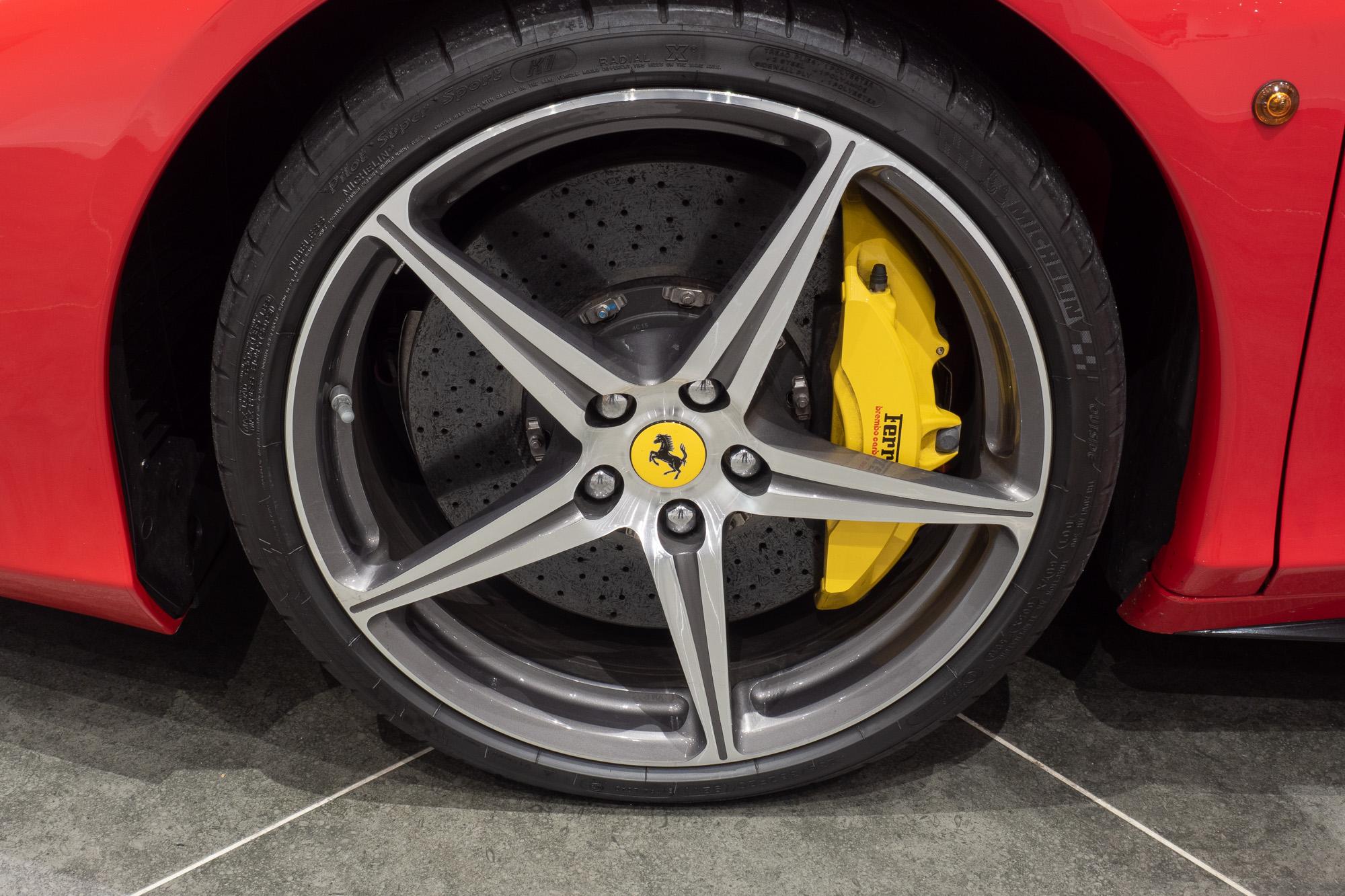 Ferrari 458 red black-13