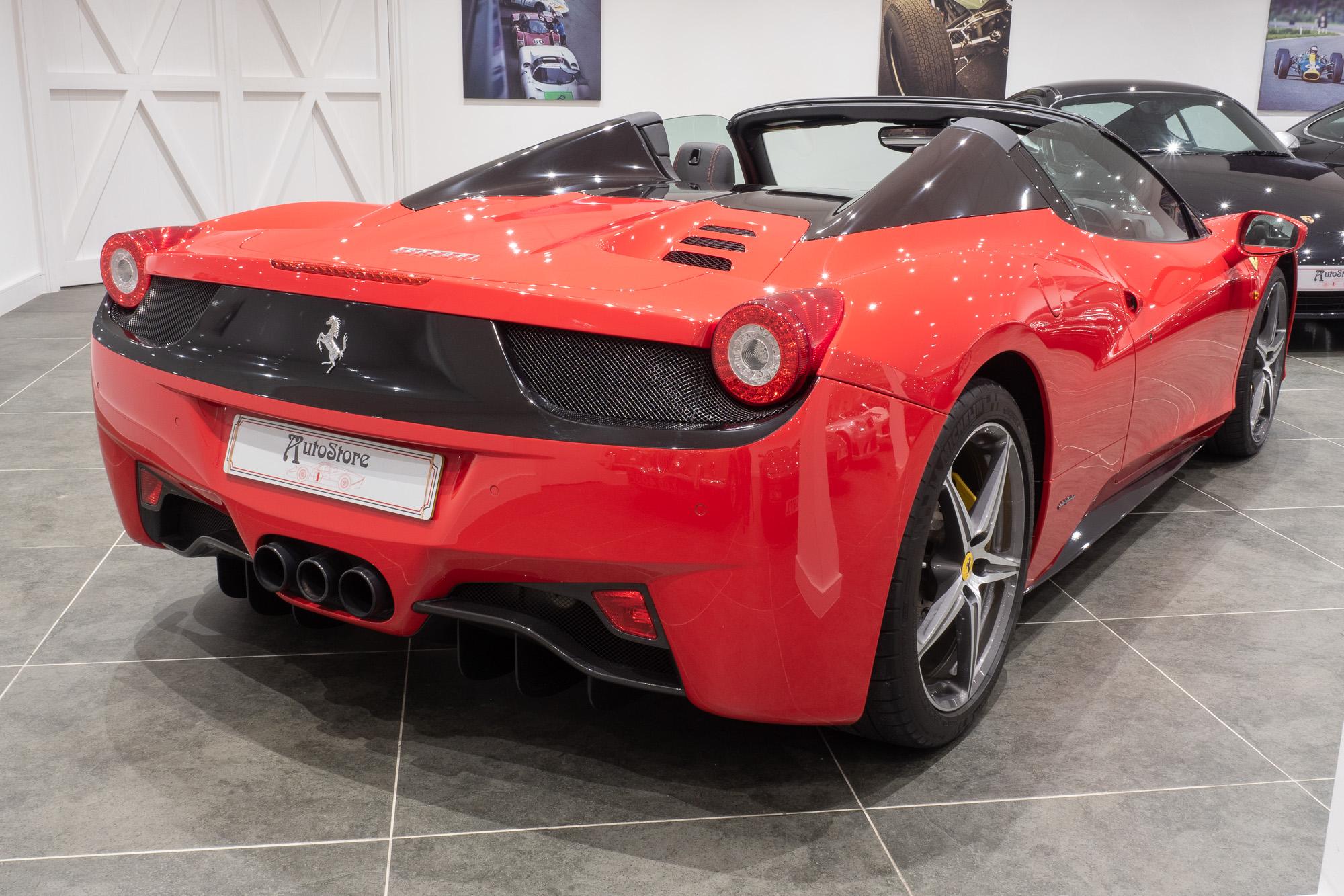 Ferrari 458 red black-4