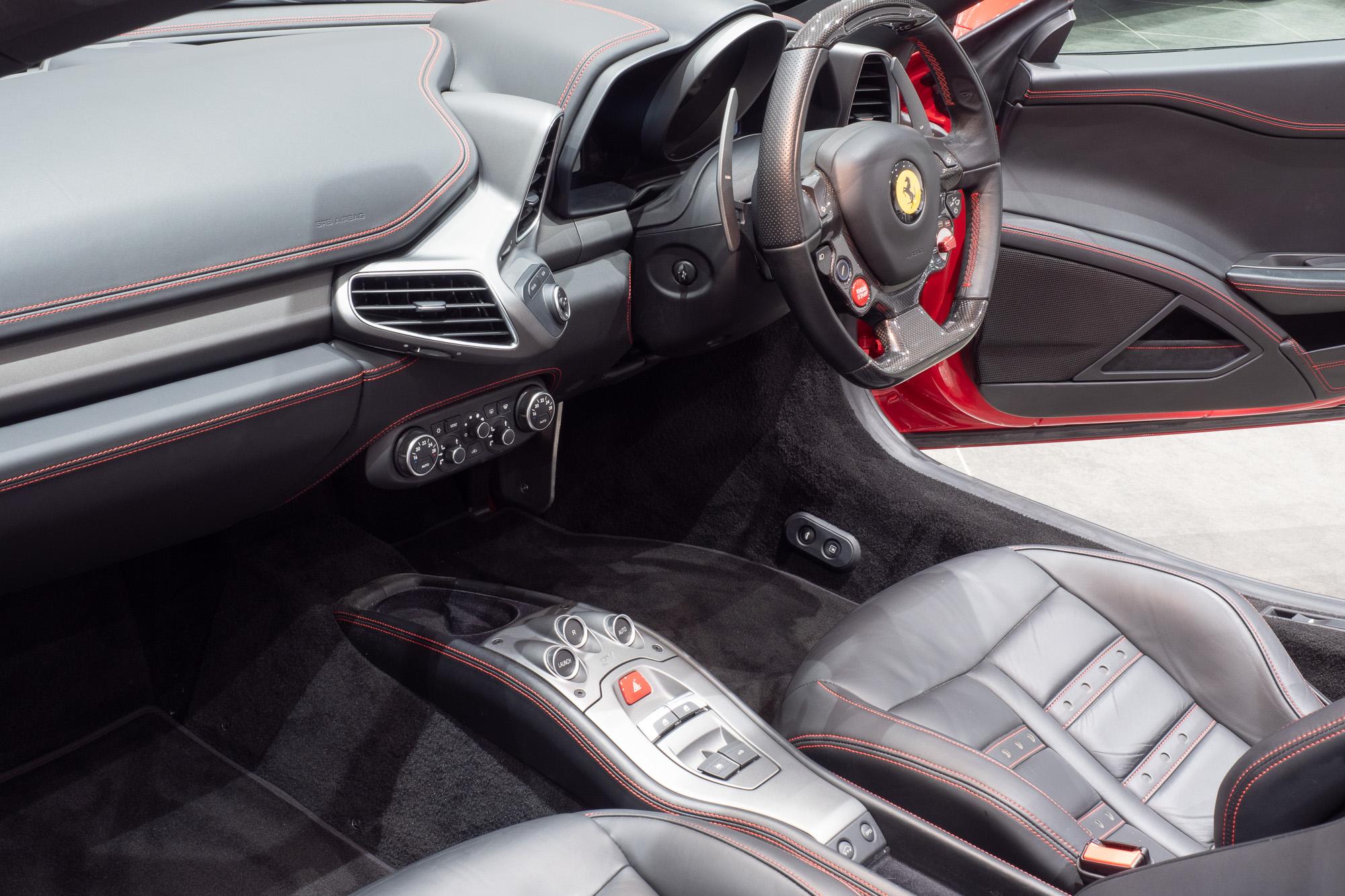 Ferrari 458 red black-10