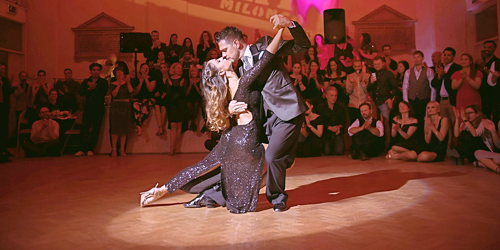 SOLD OUT - Control & Elegance in Tango Salon Giros