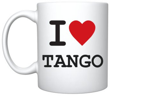 Mug: I <3 Tango