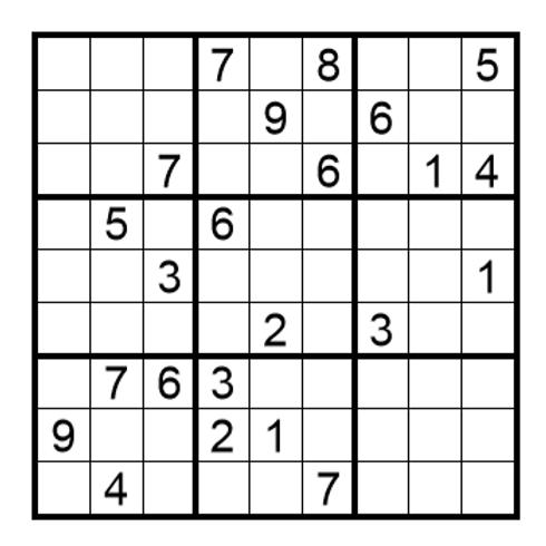 Sudoku moeilijk 14