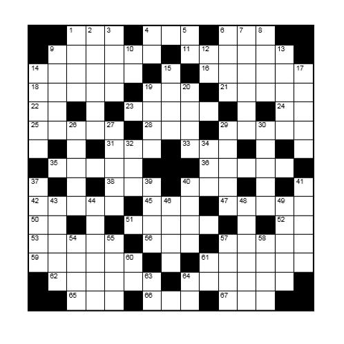 Kruiswoord 15
