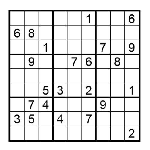 Sudoku moeilijk 11