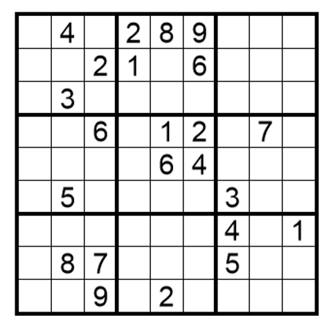 Sudoku moeilijk 20