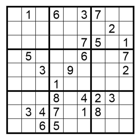 Sudoku moeilijk 19