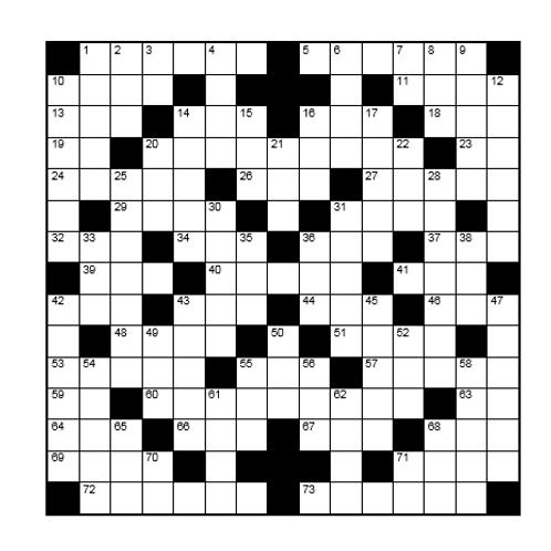 Kruiswoord 19