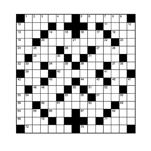 Kruiswoord 14
