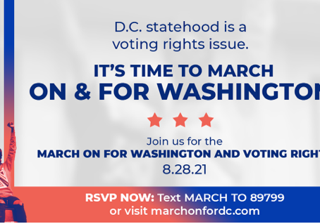 March On for Washington and Voting Rights