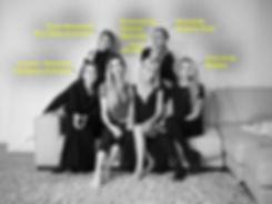 Женский коллектив фотостудии Sky Фотосессии от команды Skyphotostudio Москва Сити