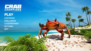 สวมบทเป็นปูนักล่าพร้อมอาวุธครบมือใน Crab Champions