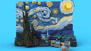 เลโก้ คอลเคลชั่นพิเศษ STARRY NIGHT ผลงานอันมีชื่อเสียงของศิลปินแวน โก๊ะ