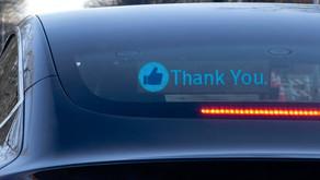 RoadWayve จอ LED สื่อสารบนท้องถนน