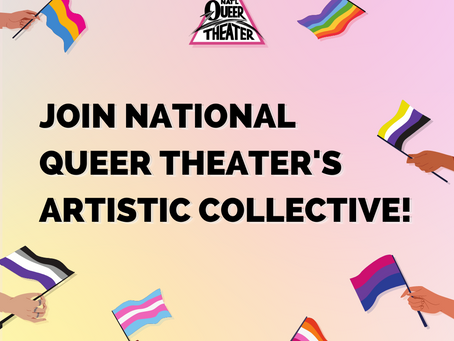 Apply for the NQT Artistic Collective!