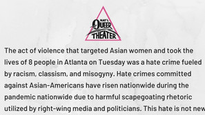 Standing in Solidarity: Response to the Atlanta Shooting