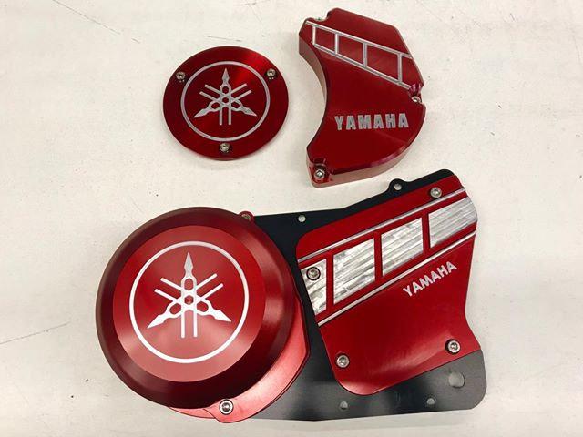 Light weight Banshee/RZ350 Engine Dress Kit. ( RED ANODIZE)